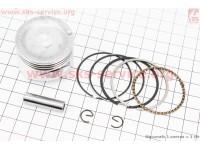 Поршень, кольца, палец к-кт 40мм (палец 8мм) HONDA GX35 (CG438) - 4Т [Китай]