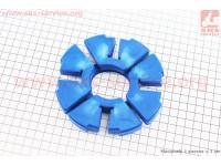 Демпферная резинка заднего колеса (к-кт 4шт) СИНИЕ [DDL]