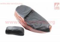 Viper - F1/F50 Чехол сиденья (эластичный, прочный материал) черный/коричневый [Украина]