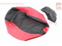Viper - F1/F50 Чехол сиденья (эластичный, прочный материал) черный/красный [Украина]