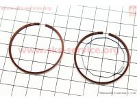 Кольца поршневые Honda DIO ZX50 40мм STD (замки верхние) [MSU]