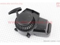 ATV детский - Крышка двигателя с ручным стартером в сборе (пластик), тип. 2 [Китай]