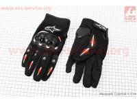 Перчатки мотоциклетные XL-черные [Alpinestars]