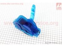 Мойка цепи разборная с ручкой, 6 чистящих ролика, синяя [Китай]