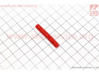 Защита рамы от рубашек тросов 40мм, силиконовая, красная CP-01 [Китай]