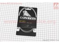Трос тормозной 1350мм универсальный МТВ/ШОССЕ с концевиком, гальванизированный, Galvanize Steel CP-B3/B4 [CON-TEC]