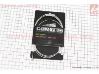 Трос тормозной 1350мм универсальный МТВ/ШОССЕ с концевиком, Stainless Steel CP-B3/B4 [CON-TEC]