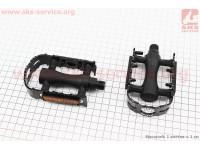 """Педали MTB 9/16"""" (103x63x28mm) пластико-алюминиевые, черные LU-C3 [Wellgo]"""
