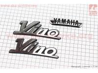 "Наклейка шильдык ""YAMAHA VINO"" к-кт 3шт (12,5х4,5см) [Китай]"