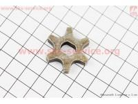 Звезда цепи 3/8-6 (D=30мм, d=8/10мм, H=6mm)