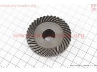 Шестерня метал (D=56,5мм, d1=16мм, d2=20мм, H=26мм, Z=37) Майстер Данило