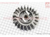 """Ротор магнето + """"собачка (пластик)"""" в сборе 4500/5200 [Китай]"""