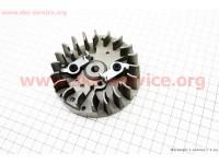 """Ротор магнето + """"собачка (метал)"""" в сборе 3800 [Китай]"""