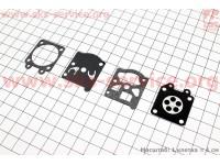 Ремонтный комплект карбюратора 4500/5200, 4 детали [Китай]