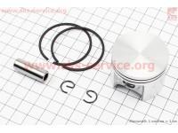 Поршень, палец, кольца, к-кт MS-250 42,5мм (палец 10мм)