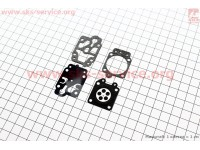 Ремонтный комплект карбюратора 1E40F-1E44F, 4 детали [Китай]