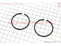 Кольца поршневые 44мм