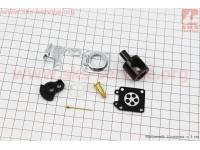 Ремонтный комплект карбюратора 1E40F-1E44F, (без прокладок), 8 деталей [Китай]