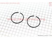 Кольца поршневые 44х2,0мм [Китай]