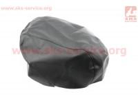 Чехол сидения Yamaha VINO 5AU (эластичный, прочный материал) черный [Украина]
