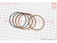 Кольца поршневые 125cc 56,5мм STD [B-cycle]