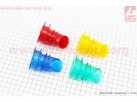 Патрубок фильтра воздушного Honda DIO AF34/35 силикон, (ЦВЕТНЫЕ) [Китай]
