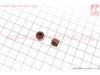 Сальник клапана Honda DIO AF54/56 к-кт 2шт [Китай]