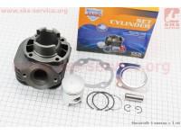 Цилиндр к-кт (цпг) Honda DIO ZX/AF34 50cc-40мм (палец 12мм) (AF35  DIO ZX; AF48 LEAD) [JWBP]