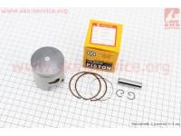 Поршень, кольца, палец к-кт Suzuki AD100/110 52,5мм STD (палец 12мм) [VLAND]