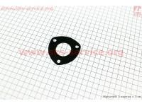 Прокладка глушителя 3отв. R175A/R180NM, колено-глушитель [Китай]
