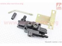 Переключатель гидравлический BDL-L40-MT + кронштейн [Китай]