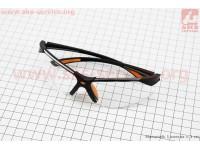 Очки защитные F-3054A, материал линзы - поликарбонат PC [Китай]