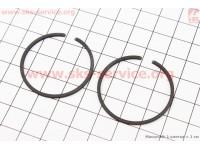 Кольца поршневые 34х1,5мм Stihl FS-38/45/55, OLEO MAC SPARTA 25 [Китай]