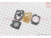 Ремонтный комплект карбюратора 1E40F-1E44F, 4 детали [NOKER]