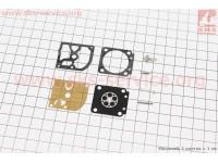 Ремонтный комплект карбюратора Stihl FS-250/400/450, 8 деталей [SABER]