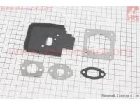 Прокладки двигателя к-кт 5шт для Stihl FS-38/45/55 [Китай]