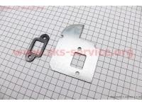 Пластина-термоизолятор глушителя к-кт MS-170/180 [Китай]