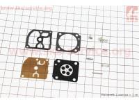 Ремонтный комплект карбюратора MS-170/180, 9 деталей [Китай]