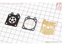 Ремонтный комплект карбюратора 4500/5200, 3 детали [NOKER]