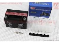 Аккумулятор 9Аh UTX9-BS (кислотный, сухой) 150/85/105мм, 2019 [OUTDO]