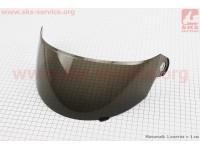 """Стекло для шлема """"с подбородком"""" тонированное (малое отверстия где крепление) [Китай]"""