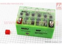 Аккумулятор 7Аh (гелевый, зелен.) 150/85/95мм [MSU]