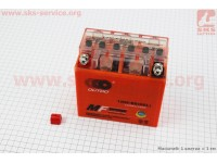 Аккумулятор 9Аh МОТО 12N9-BS (гелевый, оранж) 135/75/135мм, 2019 [OUTDO]