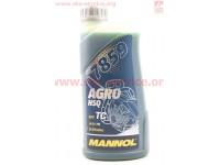 """Масло 2T - полусинтетическое для садовой техники """"HUSQVARNA"""", 1L [MANNOL]"""