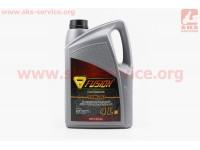 10W-40 масло полусинтетическое, для бензиновых и дизельных двигателей, 4л (качественное, производство ГЕРМАНИЯ!!!) [FUSION]