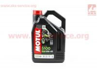 4T-5100 Technosynthese 10W-40 масло, полусинтетическое, 4л [MOTUL]