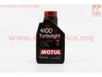 4T-4100 Turbolight 10W-40 масло для бензиновых и  дизельних двигателей, полусинтетическое, 1л [MOTUL]