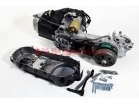 Двигатель скутерный в сборе 150куб (длинный вариатор) [Китай]