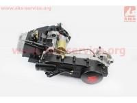Двигатель скутерный в сборе 150куб (длинный вариатор) [ZHENGHE]