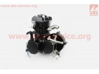 Двигатель велосипедный 2Т с ручным стартером, ЧЕРНЫЙ [Китай]